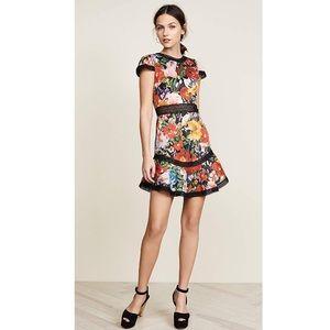 NWT Alice + Olivia Rapunzel Flutter Dress